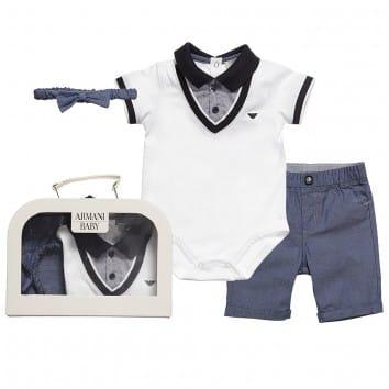 ad0d79df6381 Armani Junior Kids   Baby Clothes - Baby Designer Clothes