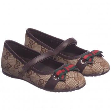 gucci kids shoes. gucci-girls-brown-interlock-shoes gucci kids shoes l
