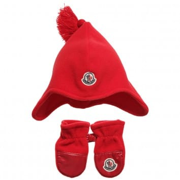 moncler baby mittens