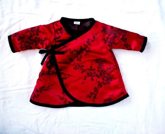 Long Sleeve Designer Baby Dress - Baby Designer Clothes 583cbb114