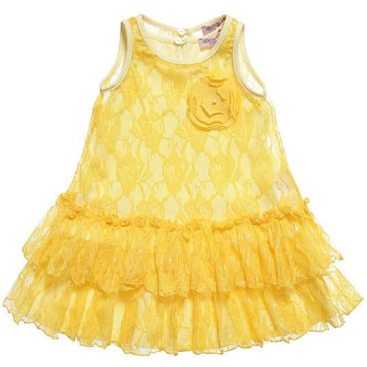 0744b2d901d0 Sleeveless Designer Baby Dresses - Baby Designer Clothes